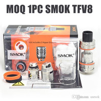 1Pc SMOK TFV8 Tank Full Kit 5 6ml Top Refill Adjustable airf...