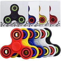 30pcs lot Mix Color EDC Fidget Spinner toy finger spinner to...