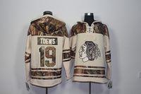 Brand Camo #19 Jonathan Toews Chicago Blackhawks Ice Hockey ...