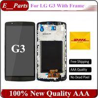Original Pour LG G3 D850 D851 D855 VS985 LS990 Affichage LCD Touch Digitizer écran Assemblage avec sFrame bonne par expédition rapide