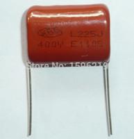 Wholesale- 20pcs CBB capacitor 225 400V 225J 2. 2uF 2200nF P26...