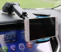 Support de pare-brise de voiture Support de tableau de bord Support de téléphone de voiture Pour tous Téléphone portable Téléphone cellulaire avec gel de silice sur n'importe quel plan lisse avec le paquet