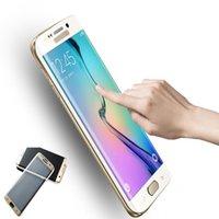 Pour Galaxy S8 verre trempé Protecteur d'écran couvrir l'écran entier 3D curve écran protecteur pour samaung S7edge S6edge
