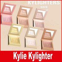 Kylie Kylighters Kylie Jenner Cosmetics Kylighter Eyeshadow Клубничный песочный торт Конфеты Крем соленый Карамель Банан Сплит Kylighters