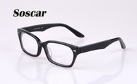 Soscar 5130 Sunglasses Frames for Men Women Brand Designer M...