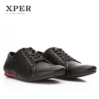 BIG Size 40~46 Men Casual Shoes Lace- up Breathable Fashion B...
