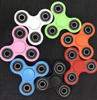 EDC Fidget Spinner jouet jouet spinner jouet main tri spinner Handspinner décompression anxiété jouets bureau Focus Finger Spinning KKA1400 500pcs