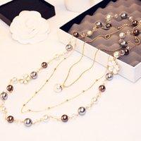 2017 new Korean fashion jewelry exquisite size pearl tempera...