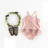New INS 2017 Infant Summer fashion temperament baby Pajamas ...