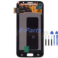 1Pcs Pour Samsung Galaxy S6 100% Original qualité d'écran AAA G920 G920F G920A G920T lcd écran d'affichage écran tactile Digitizer Assembly + outil
