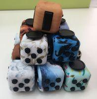 Novedad Fidget Cube Toy Stress Relief Enfoque Para Adultos y Niños Descompresión Ansiedad Juguetes regalos de Navidad LJJH1468