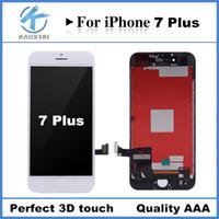 Perfect 3D touch Pour iPhone 7 Plus Écran LCD Écran tactile Numériseur Panneau Cadre Qualité AAA