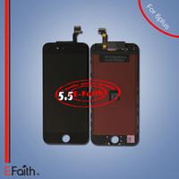 Écran LCD pour iphone 6 Plus 5.5 pouces Grade A +++ LCD remplacement d'écran avec numériseur tactile Livraison gratuite