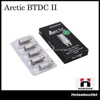 Autonome Horizon Arctic BTC Bobine BTDC pour Arctic Atomizer 0,2 ou 0,5 ohm Bobines de rechange pour Arctic Atomizer Nouveau pack