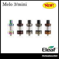 Authentique Eleaf Melo 3 Atomizer 2ml et Mini Melo 3 Tank 4ml Fit iStick Pico Mod Melo3 Melo3 Mini Atomizer Nouveaux Couleurs