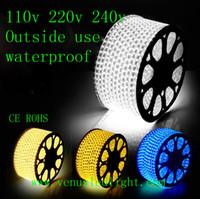 100M led strip light 60led flexible 110v 220V waterproof smd...
