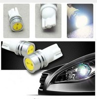 100PCS T10 1W 1SMD ED Car Side Wedge Tail Light Bulb High po...