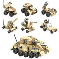 Building Blocks Toys Super Tanks Compatible With Self- Lockin...