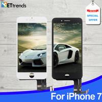 LCD AAA de qualité pour iPhone 7 7 plus Écran tactile Écran tactile Ensemble de numériseur de marque LG Cadre de pression à froid DHL Livraison gratuite