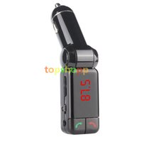 LCD Bluetooth Car Kit Mp3 Player FM Transmitter Modulator BC...