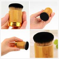 20шт Tarte Airbuki Кабуки Bamboo Пудра Кисть высокого качества мягкий Универсальные щетки без розничной коробки на складе