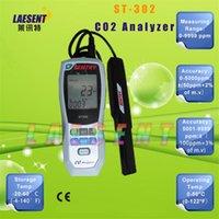 Wholesale- ST302 Handheld Carbon Dioxide CO2 Detector Analyz...
