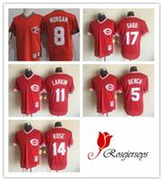 Men Cincinnati Reds 5 Johnny Bench 11 Barry Larkin 17 Chris ...