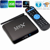 TV BOX 4K M9X II M2 Amlogic S905X Android 6. 0 Quad Core 2G 1...