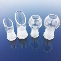 2017 Hot Selling 2 types d'accessoires de fumer clou dôme en verre avec 14,5 mm 18,8 mm joint femelle pour bongs en verre SC07-SA09 SA03-SC02