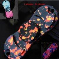 EDC Hand Spinner Colorido Handspinner Finger Spinner Color Fidget Spinner Fingertip Decompression ansiedade gyro Retail Box KKA1516