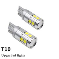 Car Signal Lamp T10 W5W 194 Canbus 9SMD 3030 Trunk Lamp Clea...