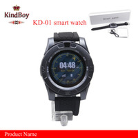 2017 KD-01 Smartwatch Wristband pour iPhone Android iwatch Smart SIM Intelligent Mobile Watch montre android caméra intelligente libre DHL