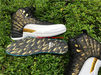 DHL Shipping xii men Wings 848692- 033 Retro 12 With Real Car...