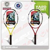 2017 Newest AAA Tennis Racket Racquet Sports Carbon Fiber Gr...
