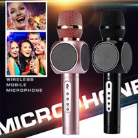 2017 New E103 Portable Metal Wireless Microphone Bluetooth H...