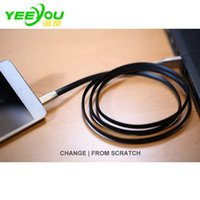 USB Data Charger Leather Cable Sync for huawei Micro USB lea...