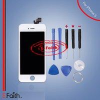 Pour White iPhone 5 LCD Écran tactile écran digitizer Full Assembly avec outils ouverts Livraison gratuite