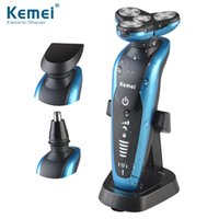 Kemei 3 in1 Washable Rechargeable Electric Shaver Triple Bla...