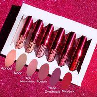 6pcs set Kylie Cosmetics Valentines Collection Matte Liquid ...
