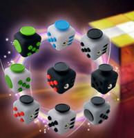 Puzzle Magic Fidget Cubo Juguetes Escritorio Juguete Estrés Anxiety Relief Descompresión Juguete Fidget cubo 11 diseño KKA1244