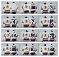 Чикаго Блэкхокс # 19 Тэйвз 2017 Зимняя классика Премьер-Джерси # 88 Патрик Кейн трикотажные изделия хоккея Сшитые Хоккей Униформа для мужчин
