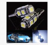 100PCS T10 CANBUS 9SMD 5050 SMD 3- chips LED White Light Bulb...