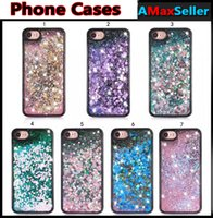For iphone 7 plus Diamond Quicksand Bling Phone Cases For ip...