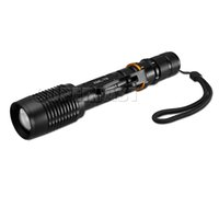 XML- T6 LED Flashlights Waterproof Tactical Flashlights Zooma...