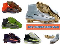 Discount Kids Mercurial Superfly CR7 Football Shoes Kid&#039...