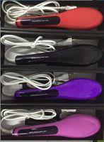6 Colors Available Hair Brush Straightener Style NASV Hair S...