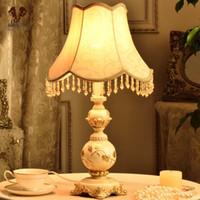 Европейские ткани Retro Desk Светильник для светильников Luminaria тумбочка для ванной комнаты Светильники для прихожей спальни Прикроватные светильники