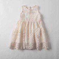 Everweekend 2017 Girls Summer Lace Embroidered Party Dress G...