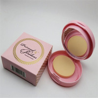 Faced Primed Poreless Pressed Powder 3 Couleurs Double couche d'huile de contrôle Correcteur Primer Poudre de maquillage Face Livraison gratuite