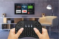 Fly Air souris Rii Mini i8 2.4GHz clavier QWERTY sans fil avec Touchpad pour PC PadNotebook Google Android TV Box Xbox360 PS3 HTPC / IPTV